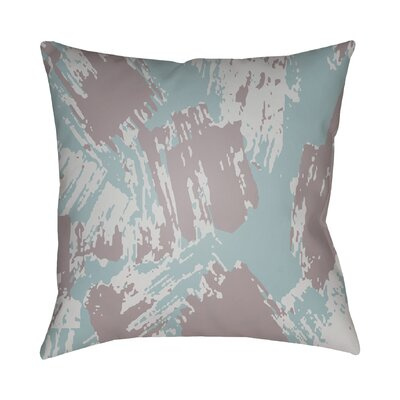 Konnor Indoor Throw Pillow Size: 18 H x 18 W x 4 D, Color: Light Blue