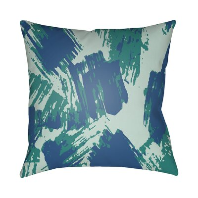 Konnor Indoor Throw Pillow Size: 18 H x 18 W x 4 D, Color: Mint