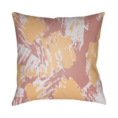 Konnor Indoor Throw Pillow Size: 20 H x 20 W x 5 D, Color: Sherbert