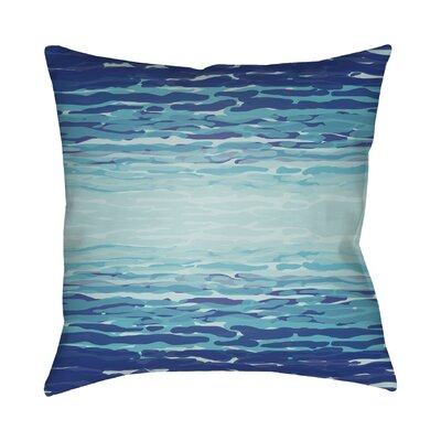 Konnor Throw Pillow III Color: Blue, Size: 20 H x 20 W x 5 D