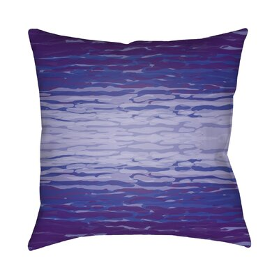 Konnor Throw Pillow III Size: 18 H x 18 W x 4 D, Color: Purple