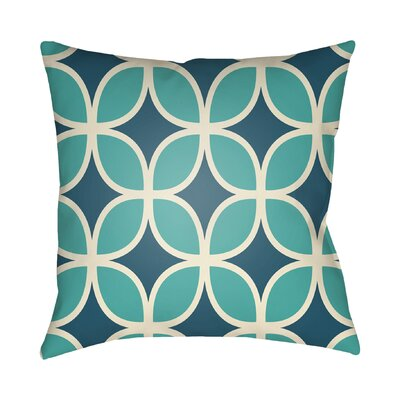 Wakefield I Throw Pillow Size: 22 H �x 22 W x 5 D, Color: Blue
