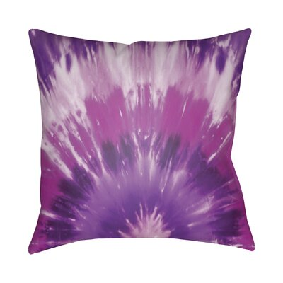 Calila Square Throw Pillow Size: 18 H x 18 W x 4 D, Color: Magenta