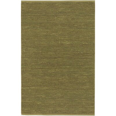 Bonnett Hand Woven Green Area Rug Rug Size: Rectangle 36 x 56