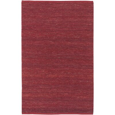 Bonnett Red Area Rug Rug Size: 36 x 56