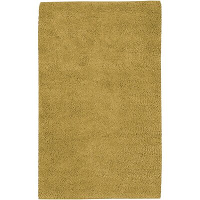 Bonney Gold Area Rug Rug Size: Rectangle 36 x 56