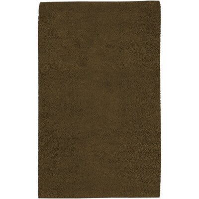 Bonney Hand Woven Wool Brown Area Rug Rug Size: Rectangle 5 x 8