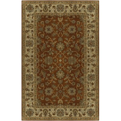 Stanford Terracotta Rug Rug Size: Rectangle 4 x 6