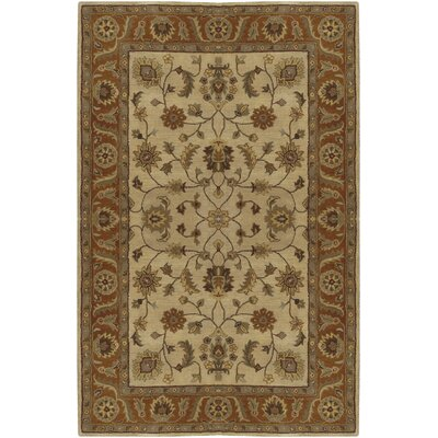 Stanford Golden Beige Rug Rug Size: Rectangle 2 x 3