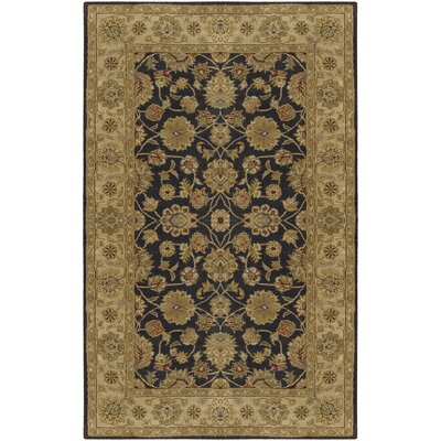 Stanford Charcoal Rug Rug Size: Rectangle 12 x 15