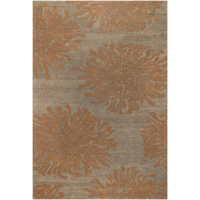 Parson Tawny Brown Area Rug Rug Size: Rectangle 9 x 13