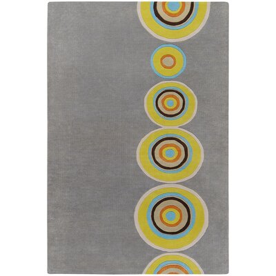 Mattox Gray Area Rug Rug Size: Rectangle 5 x 8