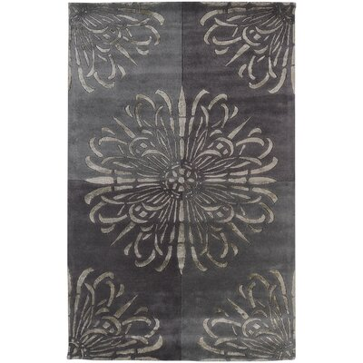 Nieve Gray Area Rug Rug Size: Rectangle 33 x 53