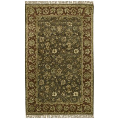 Carrickfergus Brown Area Rug Rug Size: 9 x 13