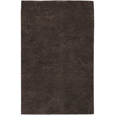 Janell Chocolate Brown Rug Rug Size: Runner 26 x 8