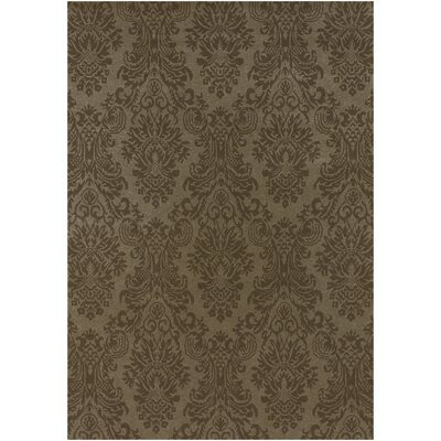 Attles Brown Rug Rug Size: Rectangle 56 x 86