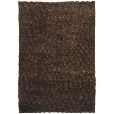Clapton Chocolate Rug Rug Size: Rectangle 5 x 8
