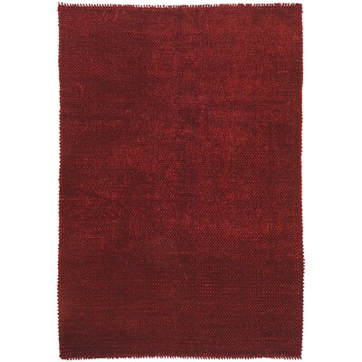 Shadow Red Rug Rug Size: 5 x 8