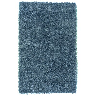 Dodge Hand Woven Blue Area Rug Rug Size: Rectangle 36 x 56