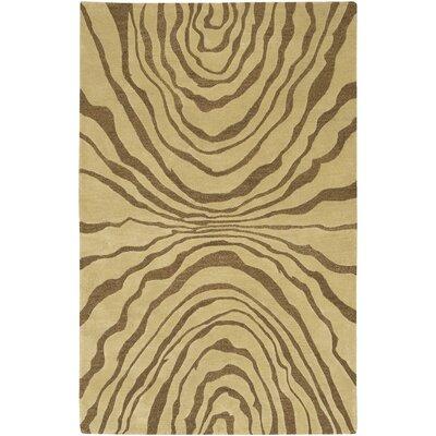 Halpin Beige/Caramel Rug Rug Size: 5 x 8