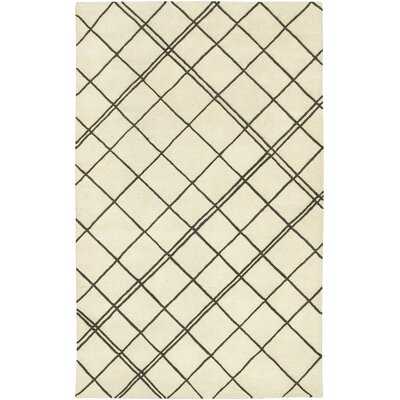 Starkey Beige/Brown Rug Rug Size: Rectangle 5' x 8'