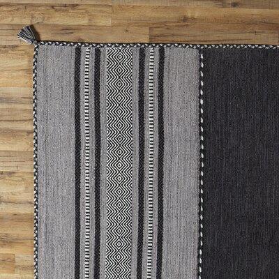 Fogarty Black Rug Rug Size: 5 x 76