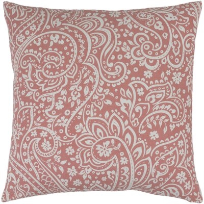 Southwood 100% Cotton Throw Pillow Cover Size: 22 H x 22 W x 0.25 D, Color: PinkNeutral