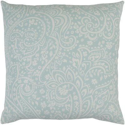 Southwood 100% Cotton Throw Pillow Cover Size: 20 H x 20 W x 0.25 D, Color: MintCream