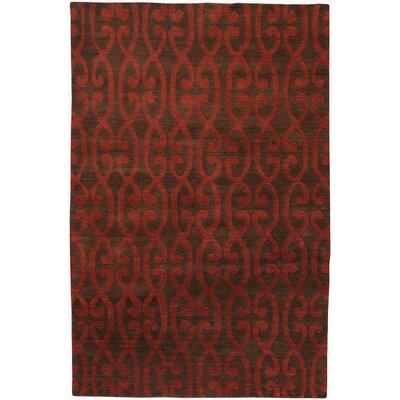 Adaline Scarlet Area Rug Rug Size: Rectangle 5 x 8