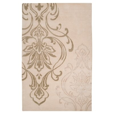 Gardiner Modern Classics Ivory/Beige Area Rug Rug Size: Rectangle 5 x 8
