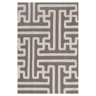 Brinda Taupe/Beige Area Rug Rug Size: 36 x 56