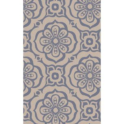 Adelaida Hand-Woven Ivory Area Rug Rug Size: 2 x 3