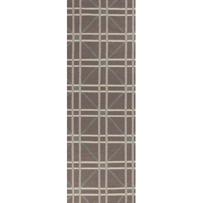 Washingtonville Gray Area Rug Rug Size: Runner 26 x 8