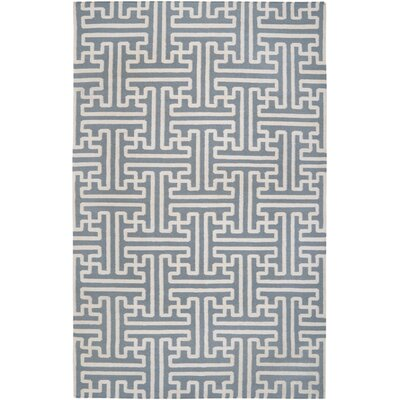 Brinda Foggy Blue Area Rug Rug Size: Rectangle 2 x 3