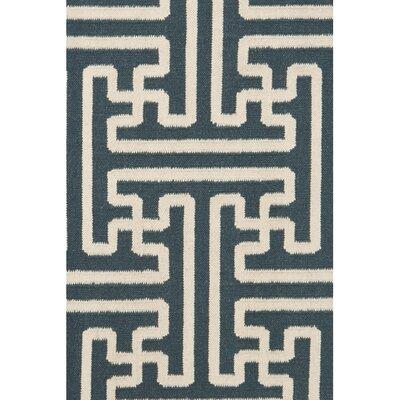 Brinda Peacock/Green Area Rug Rug Size: Rectangle 2 x 3
