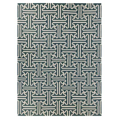 Brinda Peacock/Green Area Rug Rug Size: Rectangle 8 x 11