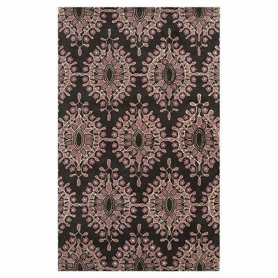 Blase Charcoal Area Rug Rug Size: Rectangle 33 x 53