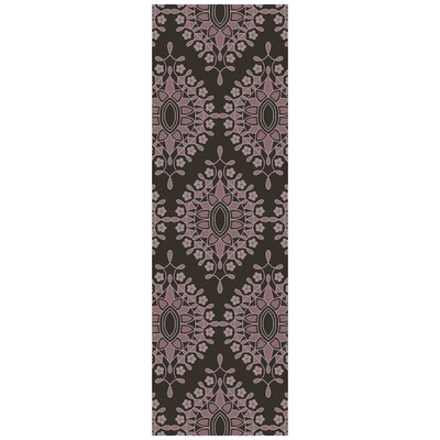 Blase Charcoal Area Rug Rug Size: Runner 26 x 8