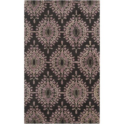Blase Charcoal Area Rug Rug Size: Rectangle 5 x 8