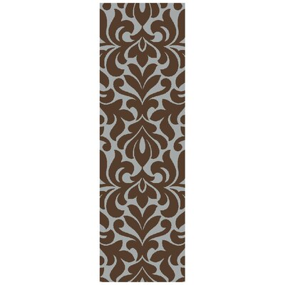 Maywood Chocolate Area Rug Rug Size: Runner 26 x 8