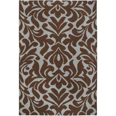 Maywood Chocolate Area Rug Rug Size: 8 x 11
