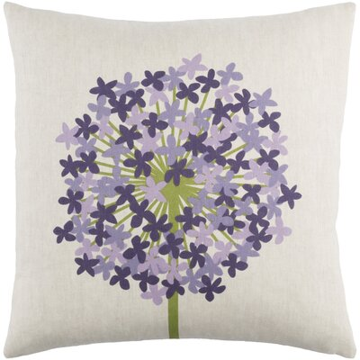 Agapanthus Pillow Cover Size: 22