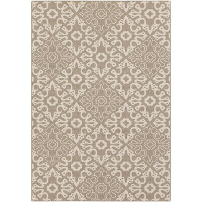 Pearce Brown Indoor/Outdoor Area Rug Rug size: 6 x 9