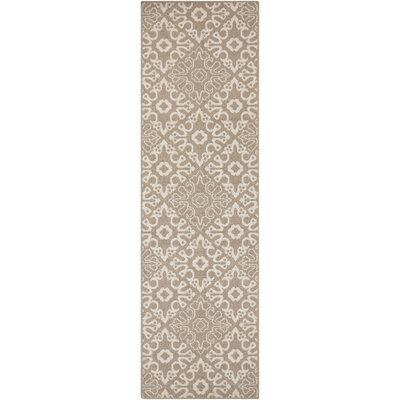 Lydia Natural Indoor/Outdoor Rug Rug Size: Runner 23 x 79