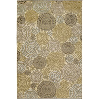 Bressler Praline Area Rug Rug Size: Rectangle 4 x 57