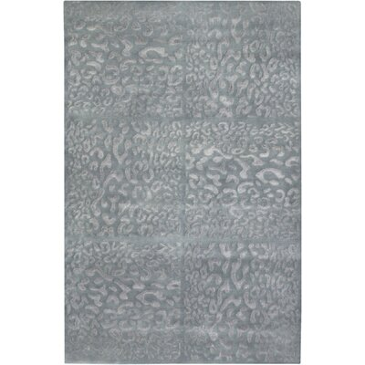 Thora Gray/Blue Rug Rug Size: Rectangle 5 x 8