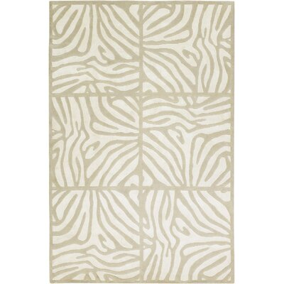 Heather Beige Rug Rug Size: 2 x 3