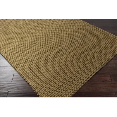Mathews Olive Area Rug Rug Size: Rectangle 2' x 3'