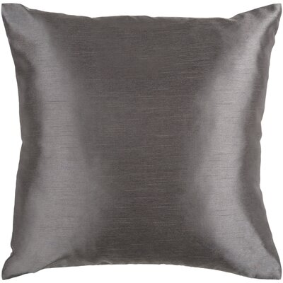 Solid Luxe Throw Pillow Cover Size: 18