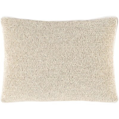 Lark 100% Cotton Lumbar Pillow Cover Color: Neutral